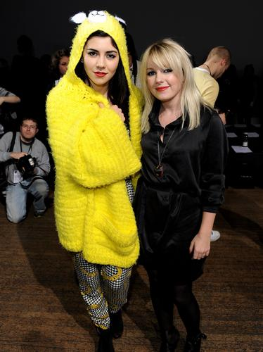 Marina and Little Boots