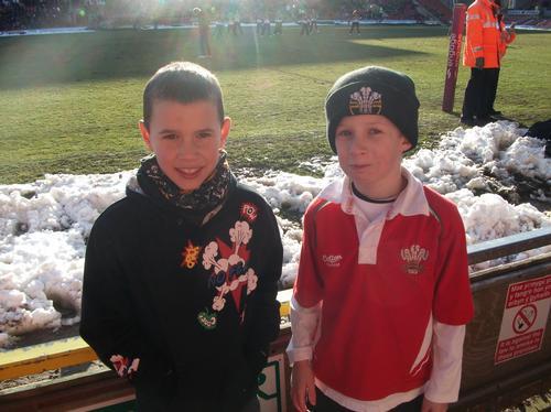 The Crusaders V Hull FC at Wrexham