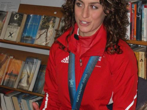 Amy Williams Gold Medal