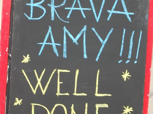 Amy Williams Sign