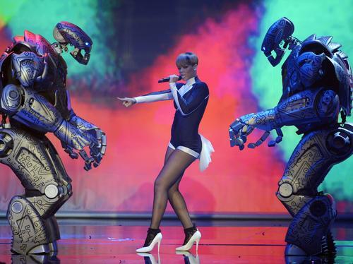 Rihanna at the Echo Awards