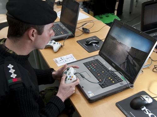 Using Xbox controller on Army Simulator