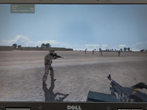 MoD's Afghanistan Simulator Screenshot