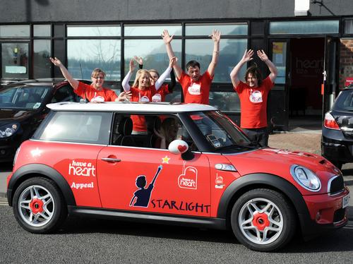 Mini Plant Oxford supports The Have a Heart Appeal