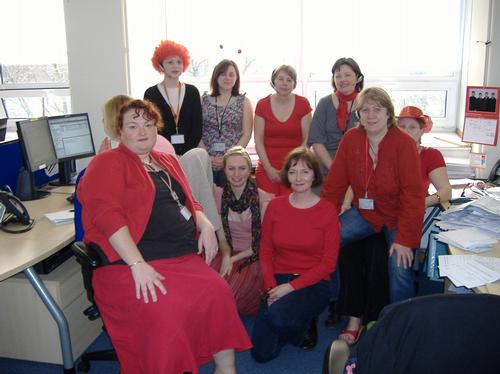 This is the Access Team working at Oxfordshire Cou
