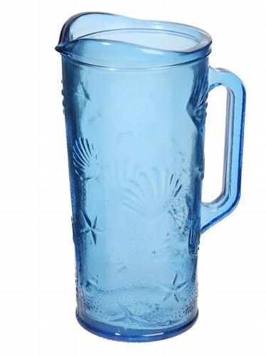 HomeSense blue glass jug
