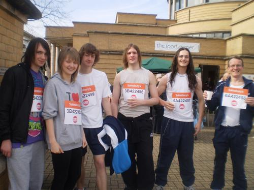 Charity Run in Milton Keynes