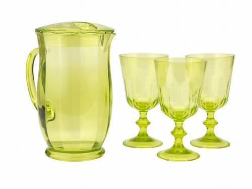 HomeSense green picnicware