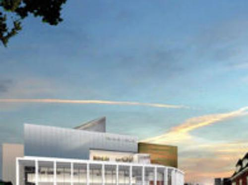 Artists Impression of the new Marlowe Theatre