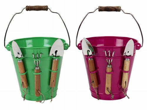 HomeSense metal buckets