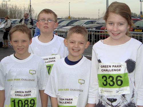 Reading Half Marathon and Green Park Challenge