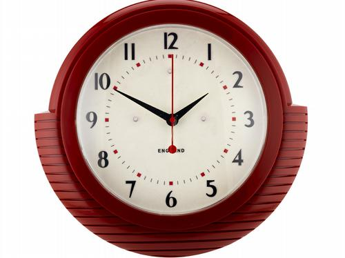 HomeSense retro wall clock