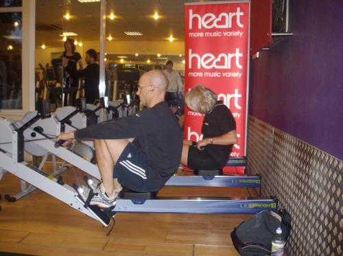 Row To New York - Fitness First - Fareham