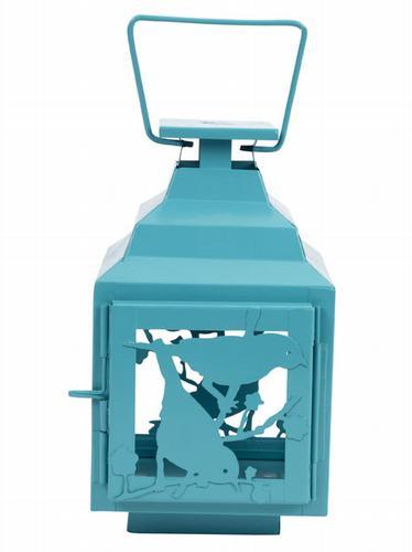HomeSense turquoise lantern