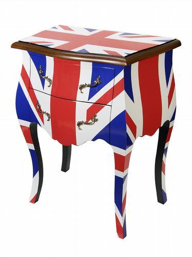 HomeSense Union Jack Louis style cabinet