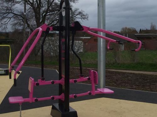 Tewkesbury outdoor gym
