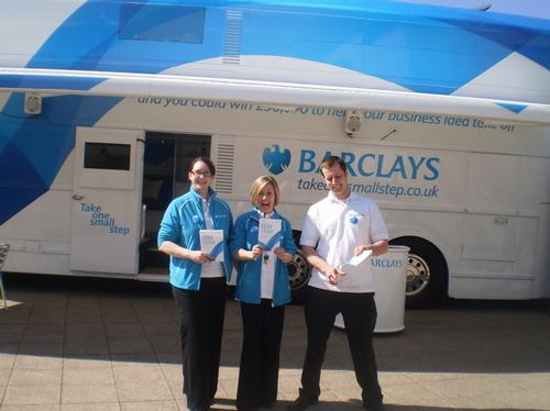 Barclays Bus In MK 8/4/10