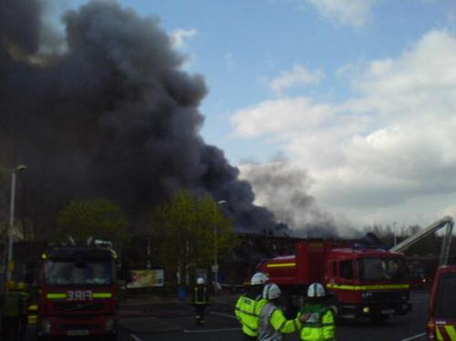 Cherwell Valley Services fire