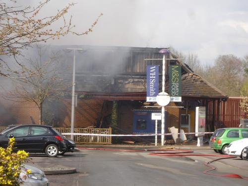 Cherwell Valley Services fire