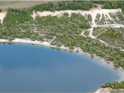 Aerial shot of Blue Lagoon 1