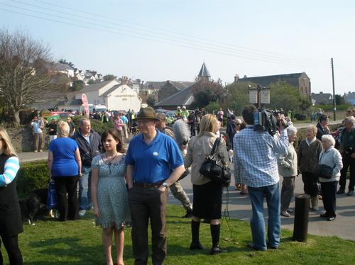 Crowds at Lydia Cross fundraising event
