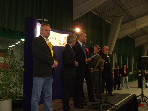 The candidates awaiting the result
