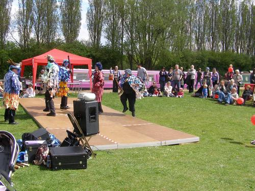 May Day Festival in Campbell Park 2010