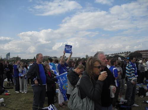 Fa Cup at Southsea Common