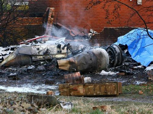 Farnborough aircraft crash