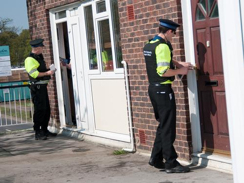 Mid Kent Police taking part in a day of action