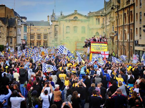 Oxford United parade