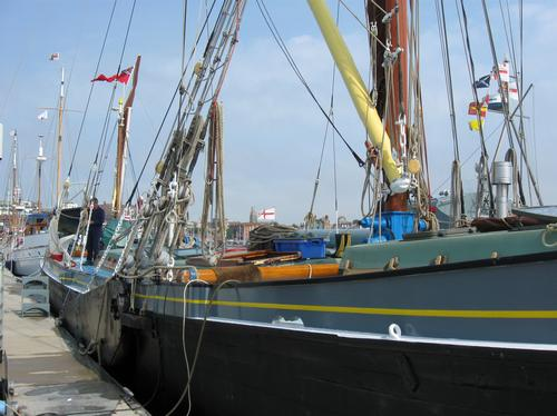 On of the little ships involved in Dunkirk
