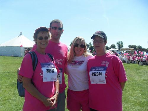 Pink Ribbon Walk 2010 - Walk 1