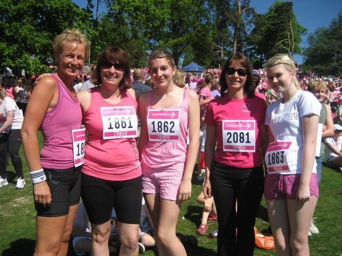Race for Life - Tunbridge Wells