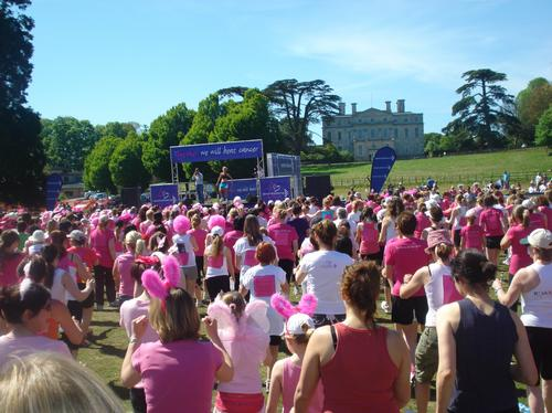 Race for life Dorchester 2010