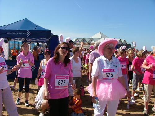 Race for Life Weston Super Mare Warm Up