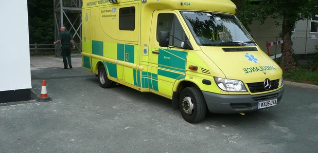 Ambulance in Plymouth