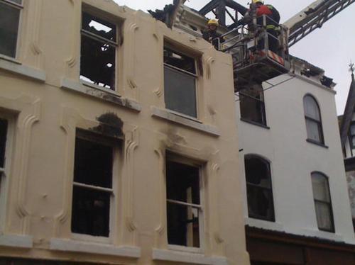 Properties gutted