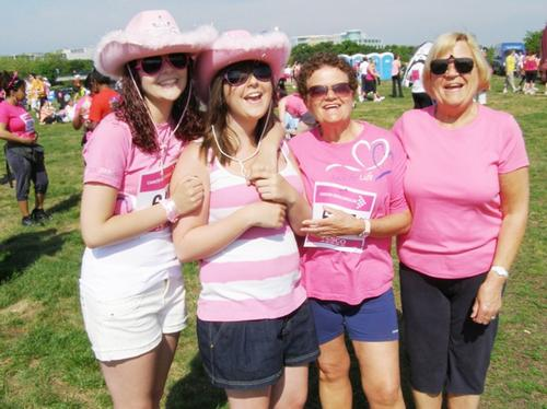 Race For Life MK Saturday 5/6/10 Pre-Race A