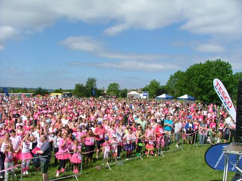 Bristol Race for Life Saturday Warm Up