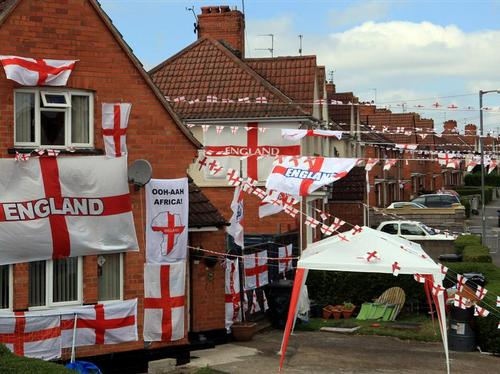 Flags of St George