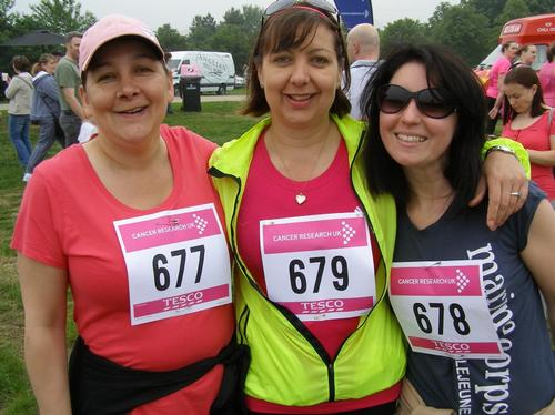 Race For Life MK Sunday 6/6/10 Pre-Race Photos A