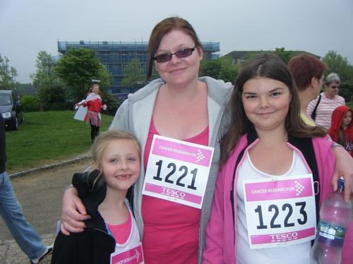 Race For Life MK Sunday 6/6/10 Pre-Race Photos