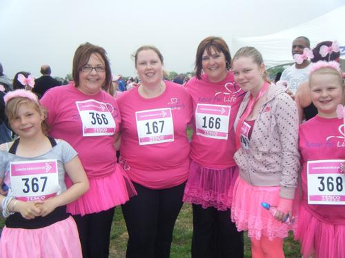 Race For Life MK Sunday 6/6/10 Pre-Race Photos
