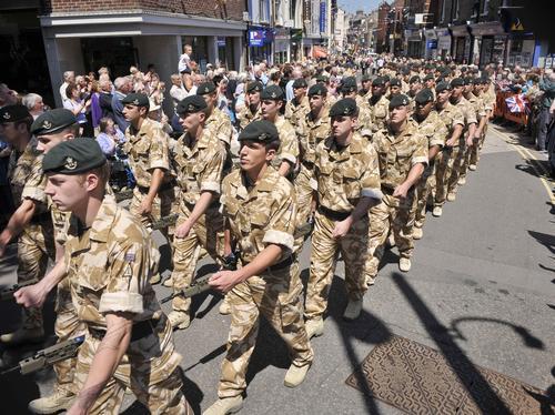 4 Rifles in Dorchester