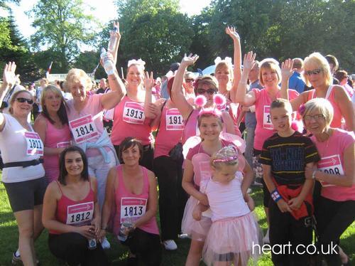 Race for Life - Wolverhampton - 16.6.10
