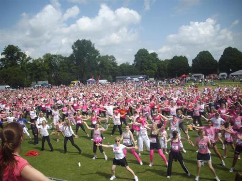 Race for Life Winchester - The Competitors