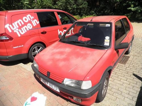 Wes's I Love MK Car