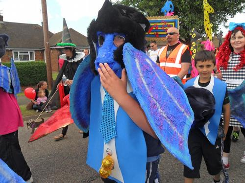 West Bletchley Carnival Parade