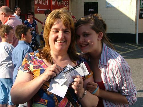 Westlife at Ashton Gate Stadium